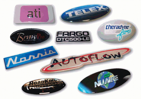 Durable Epoxy Resin Dome Labels