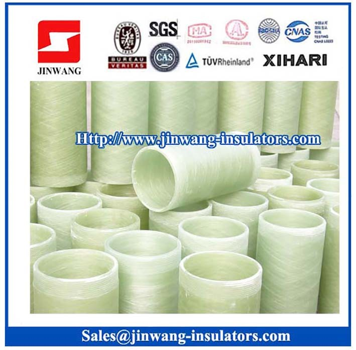 High Voltage Epoxy Fiberglass Winding Tube for Hollow Insulators by Professional Manufacturer (D47-D76)
