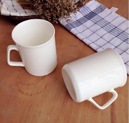 Wholesale Ceramic 11oz Bulk White Coffee Mugs