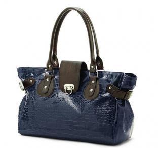 Lady′s Crocodile Grain PU Leather Handbags (RS-EP0009)