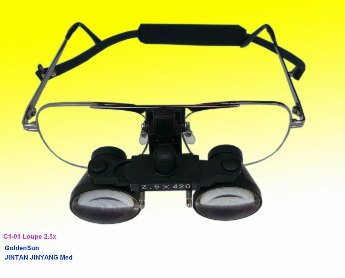 Binocular Optical Magnifying Glass Magnifier for Medical Surgical