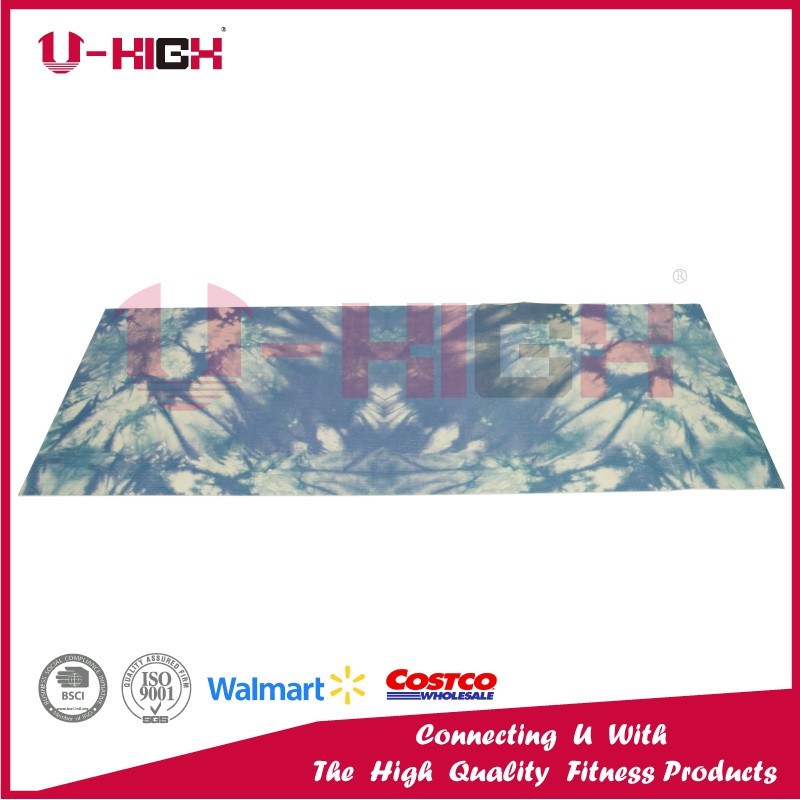 PVC Printing Yoga Mat Pilates Mat Exercise Equipment