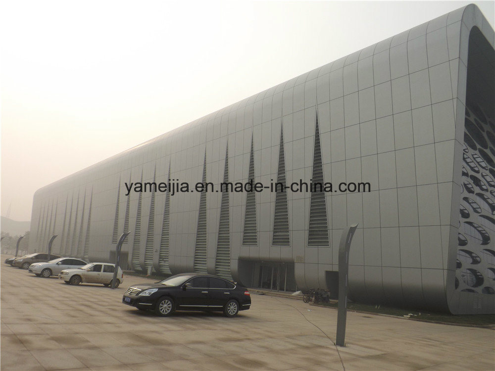 Light Weight Easy Installation Aluminum Honeycomb Panels Curtain Walls