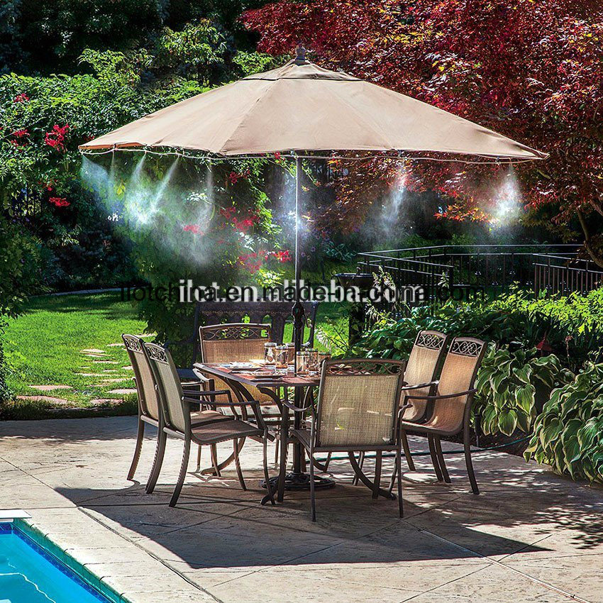 Ilot Portable 12 Meters 1/4inch Thread Outdoor Mist Cooling Kit System