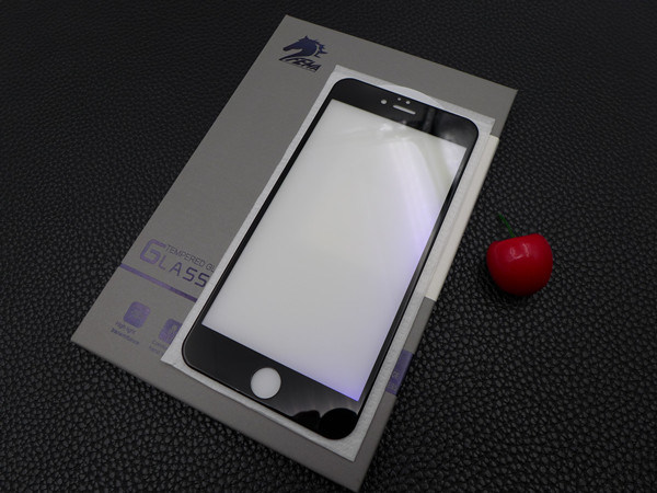 Mobile Phone Accessories Anti-Blue Ray 3D Curved Edge Tempered Glass Screen Guard for iPhone6 Plus