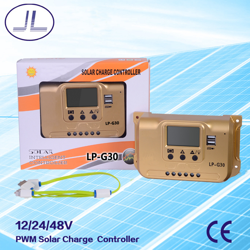 PWM Intelligent Solar Charge Controller 30A