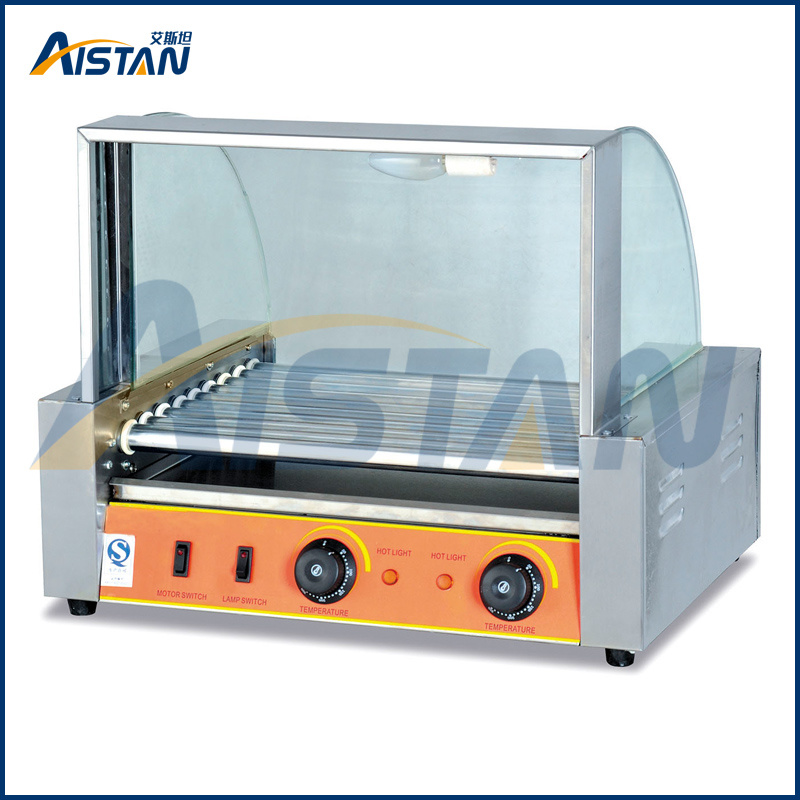 Eh207 7 Rollers Hot Dog Grill Cooking Machine