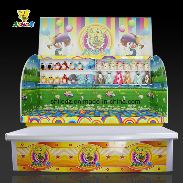 Carnival Game Booth Content-Ice Cream Cup Throw Ball Into Cup Carnival Game Indoor Game Booth