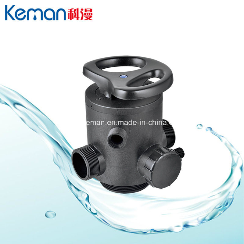 High Flow Control Valve with Manual Operation