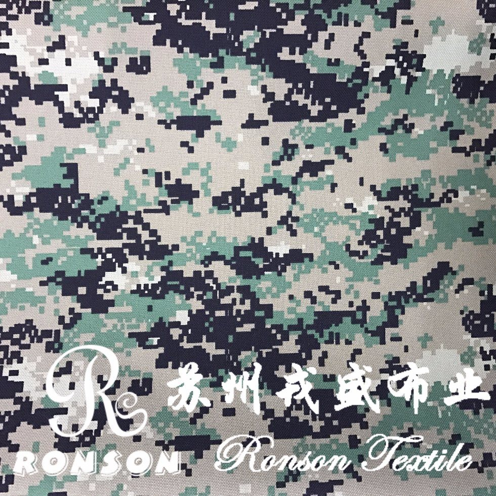 Digital Camouflage Cordura Fabric for Bags Bullet-Proof Vest