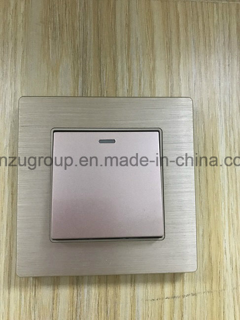 BS Style Aluminum Wall Switch WiFi Wireless Router