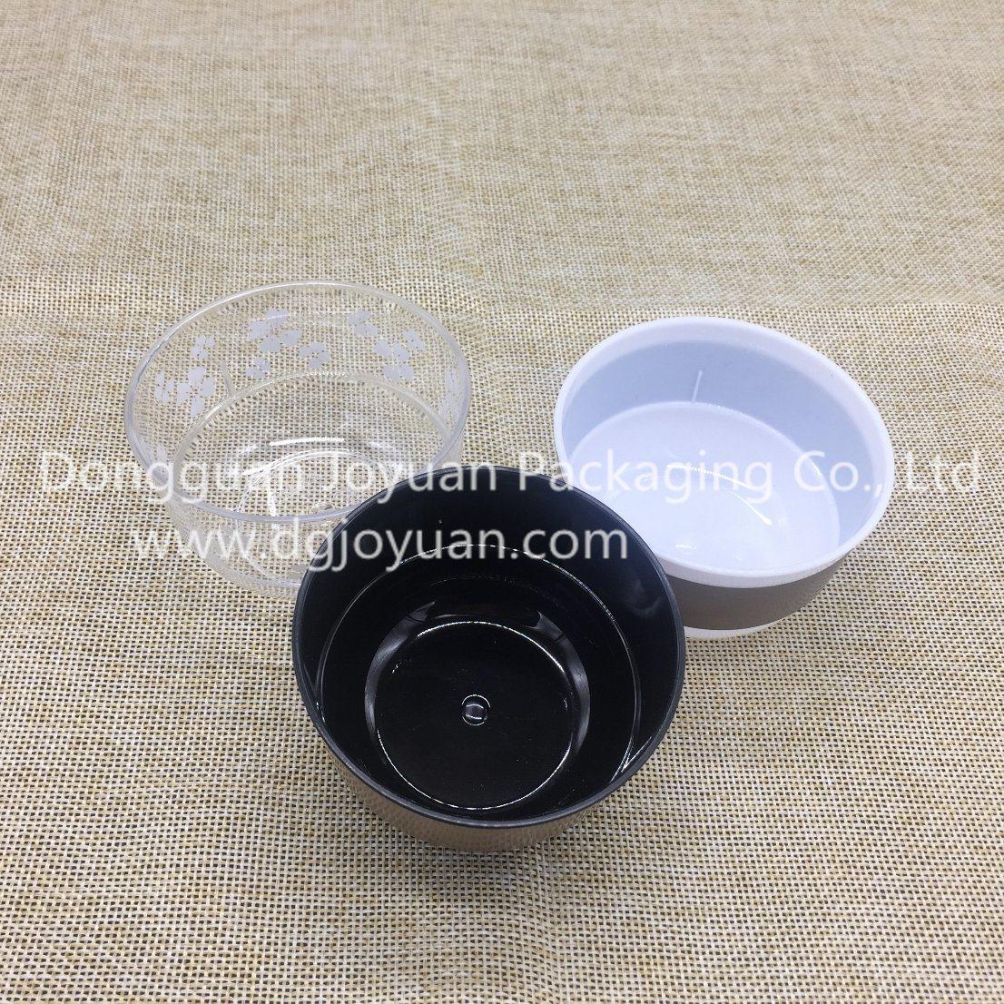 Plastic Cup Bowl Shape Cup for Mousse, Yogurt