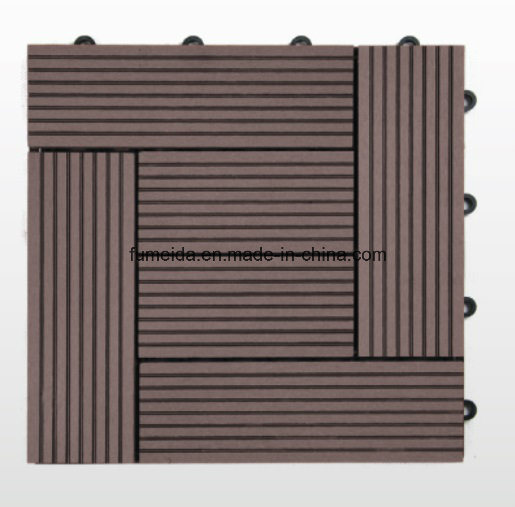 Outdoor WPC DIY Decking Tile for Promotion 300*300