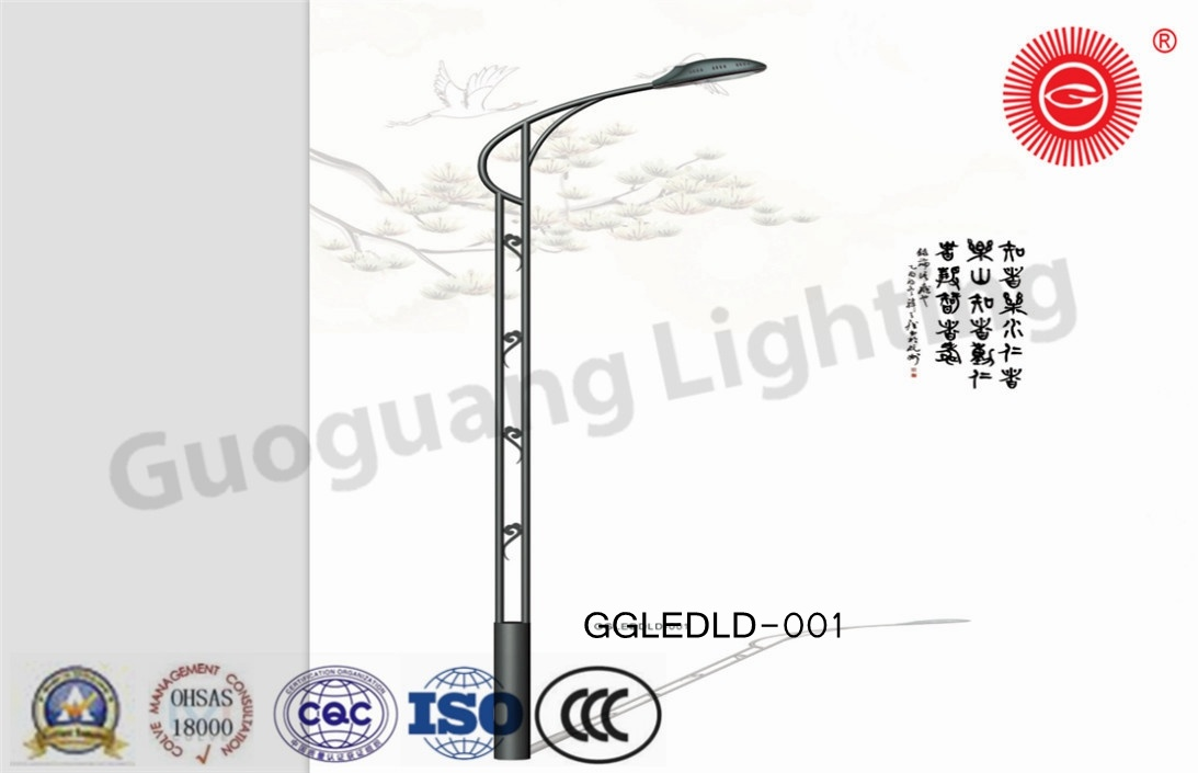 Ggledld-001 Patent Design IP65 High Quality 6m-12m LED Street Lights