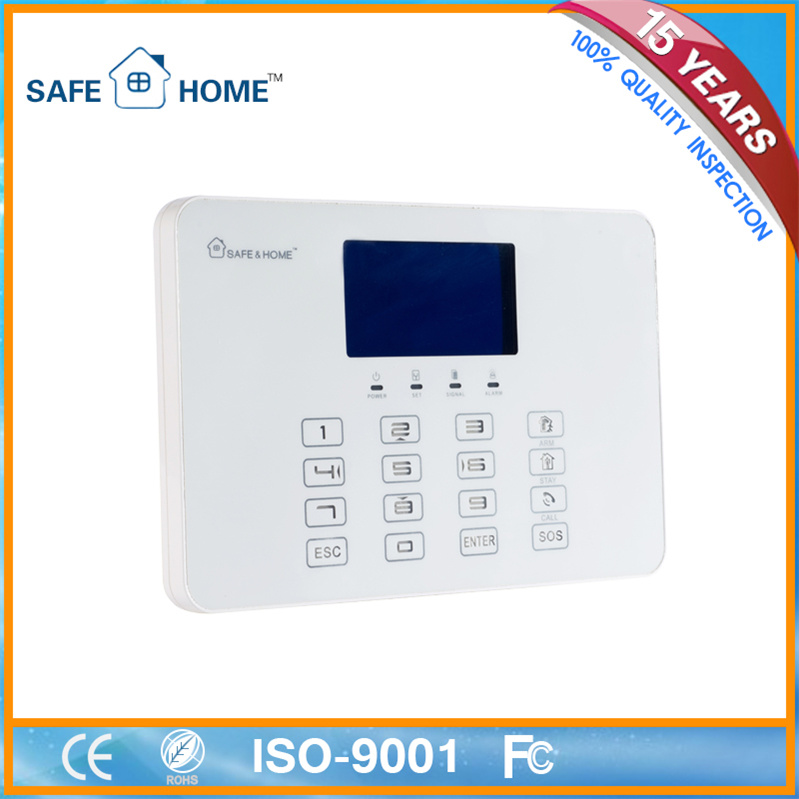 Supplier! Intelligent Wireless GSM Fire/Home Burglar Alarm
