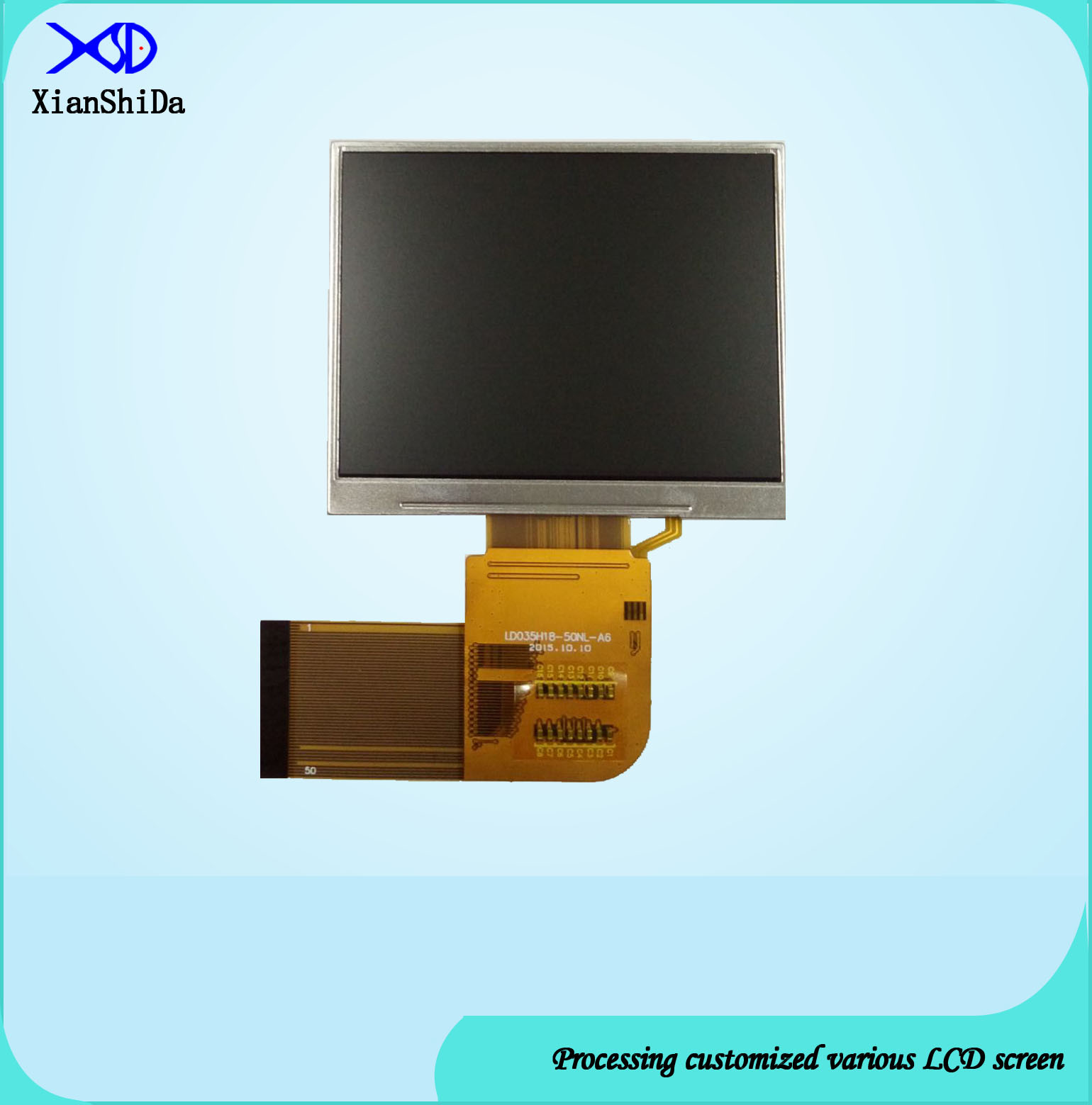 3.5 Inch TFT LCD Display with 50 Pins