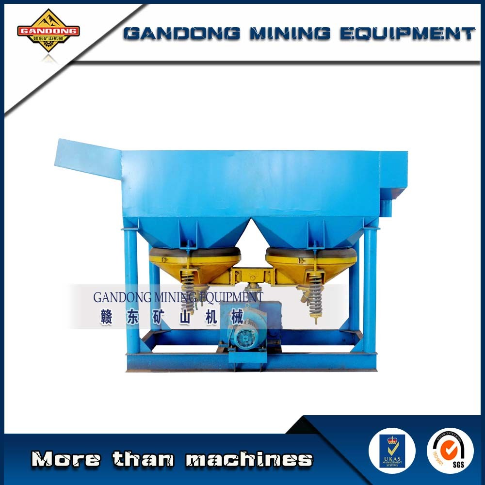 High Efficiency Alluvial Gold Mining Machine Gravity Jig Machine