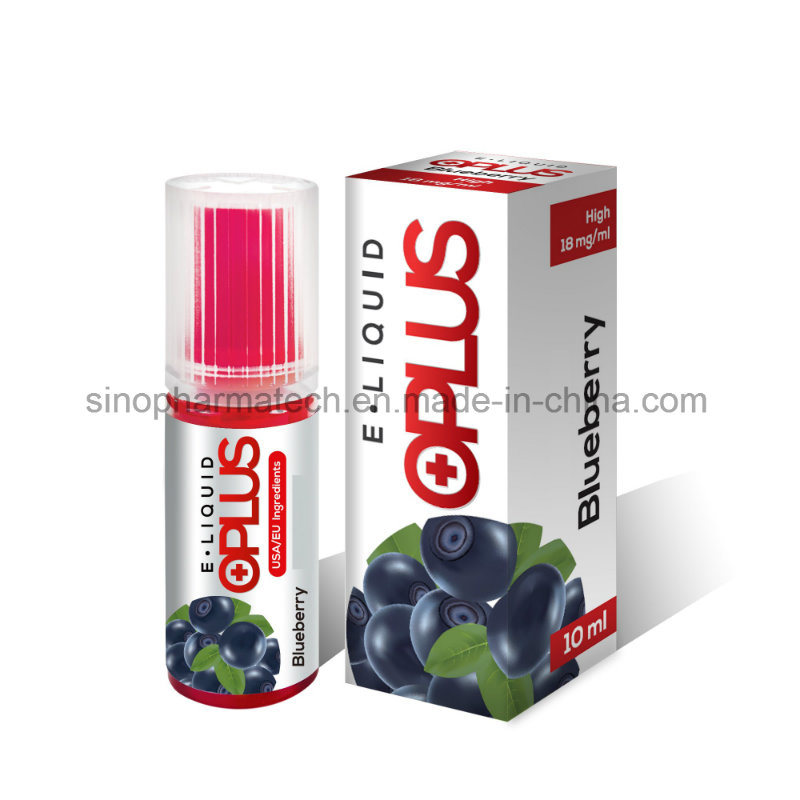 OEM Blueberry Flavor High Nicotine E Liquid for E Cigarette