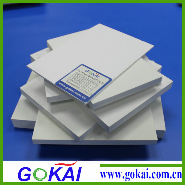 (RoHS) 4mm 1220*2440mm PVC Foamed Board for Furniture