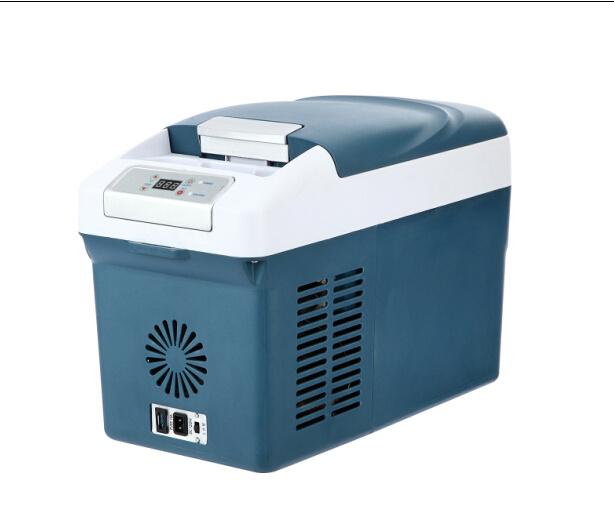 Mini Car Compressor Refrigerator 15liter DC12/24V with AC Adaptor (100-240V)