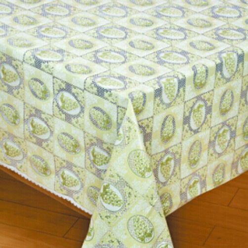 Practical and Fashion Ribbon Embroidery Tablecloth