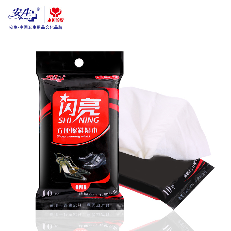 Leather or PU Shoes Cleaning Wet Wipes