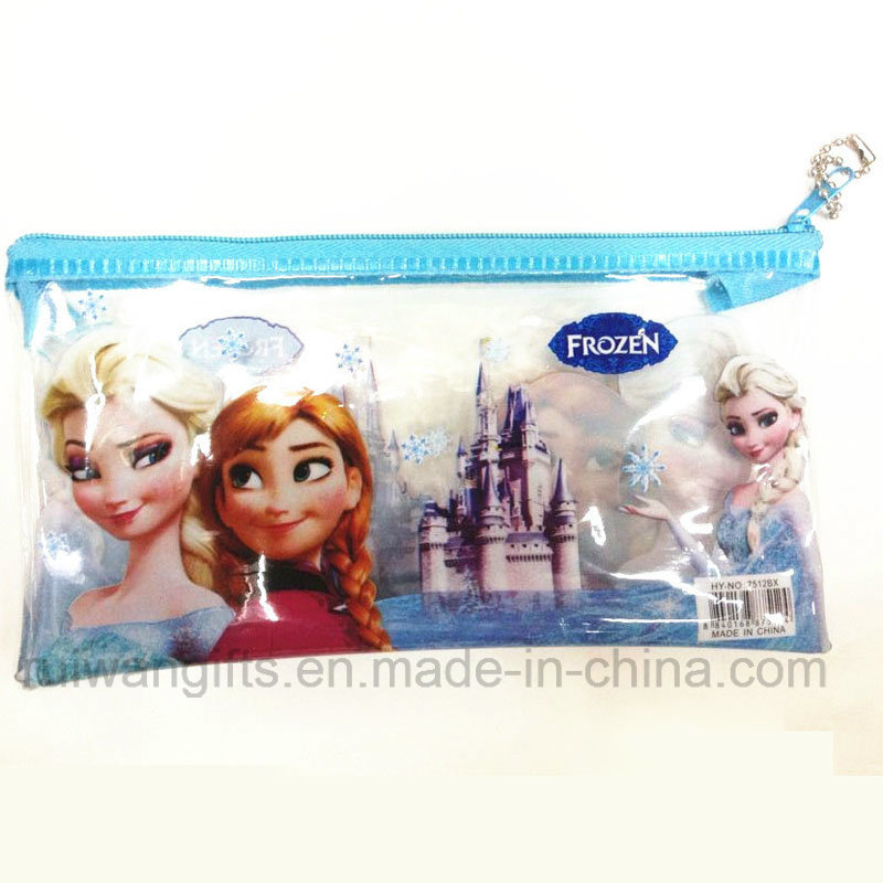 School Stationery Case Frozen Pen Pencil Bag for Children