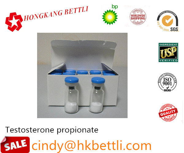 Raw Steroid Testosterone Propionate for Bodybuilder CAS 57-85-2