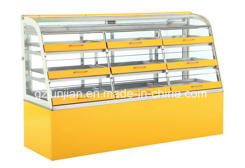 Pastry Bread Cake display Cabinet for Bakery