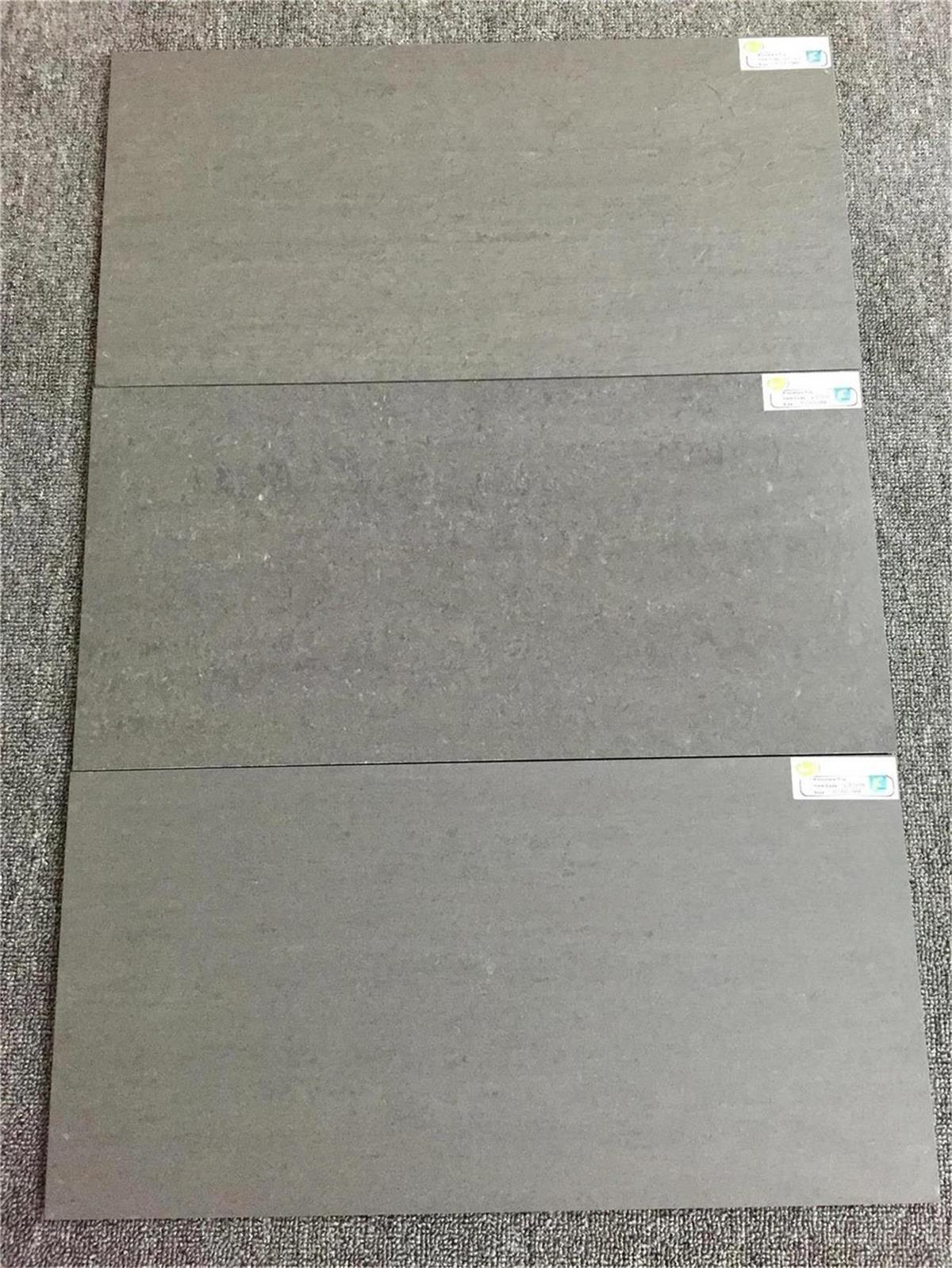 Dark Gray Color Slate Design 300X600mm Porcelain Tile