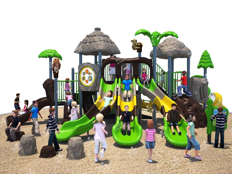 Kaiqi Forest Series Children′s Playground (KQ50015B) (Popular Product Line)