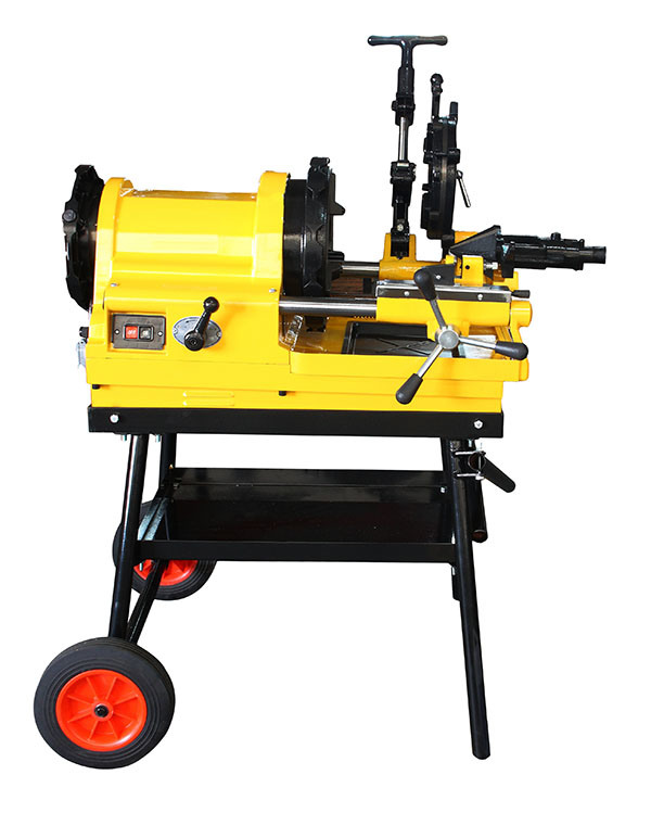 """Economic Pipe Threader 1/2""""-4"""" with Foldable Trolley"""