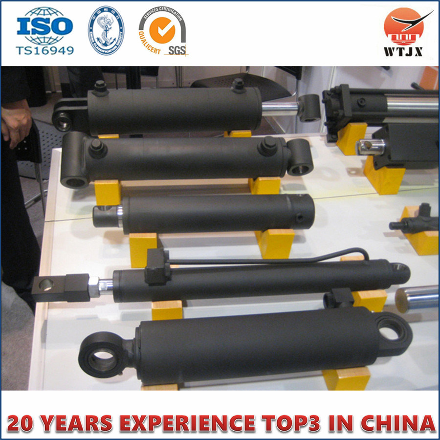 Double-Acting Hydraulic Cylinder for Repair Bench