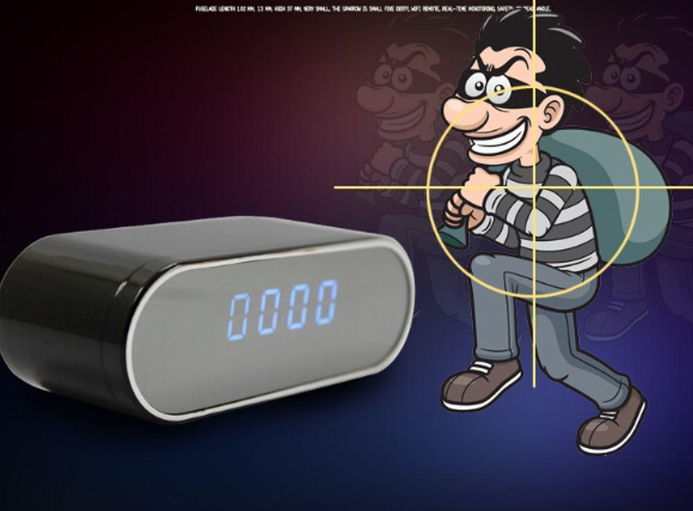 Best Selling HD 1080P WiFi/IP Wireless Clock Camera/Camera Mini Camera Nanny Cam