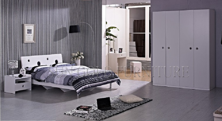 cheap china high gloss white used bedroom furniture sets sz bf083 bedroom furniture china