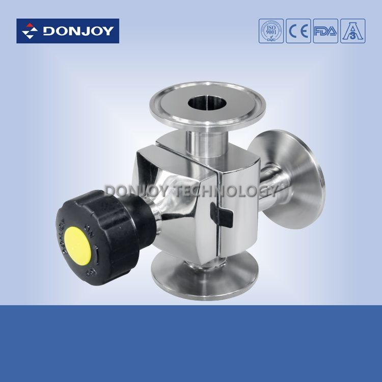 Mini Type Ss 316L Pneumatic Diaphragm Valve (Clamp Ends)