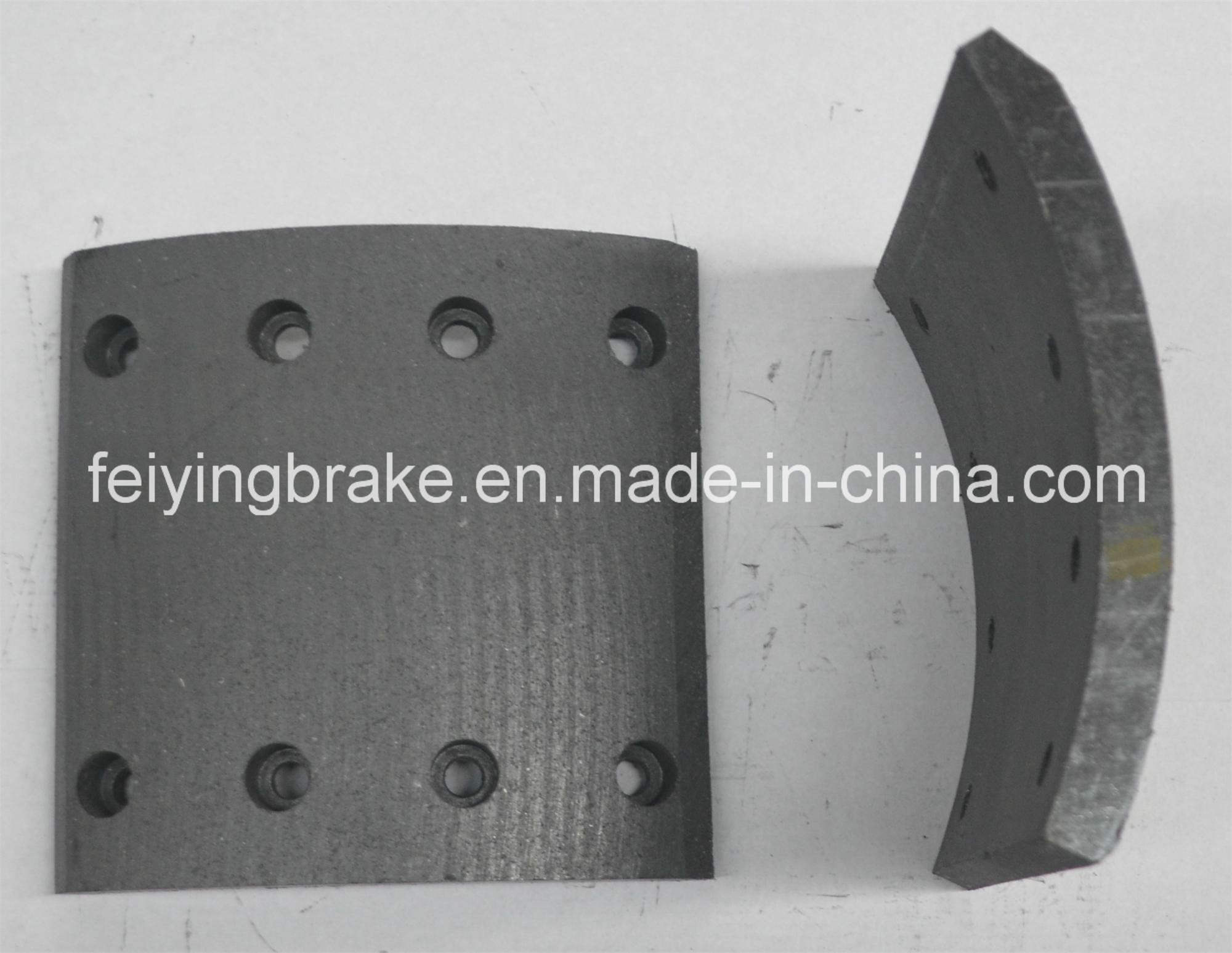 Auto Spare Part Steyr Brake Lining (WVA: 19246 BFMC: SY/24) for Heavy Duty Truck