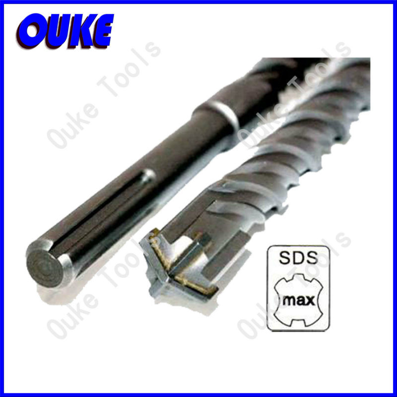 SDS Max Shank Electric Hammer Drill Bits for Concrete