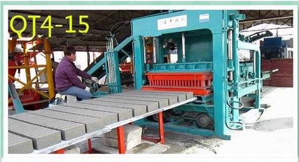 China Medium Capacity Hydraulic Automatic Brick Block Making Machine