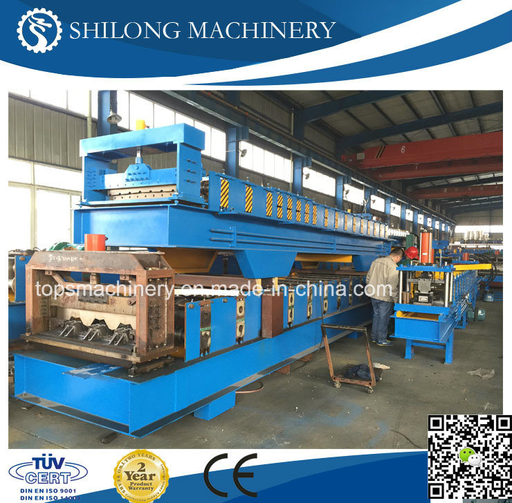 CE Approved High Strength Steel Deck Floor Roll Forming Machine