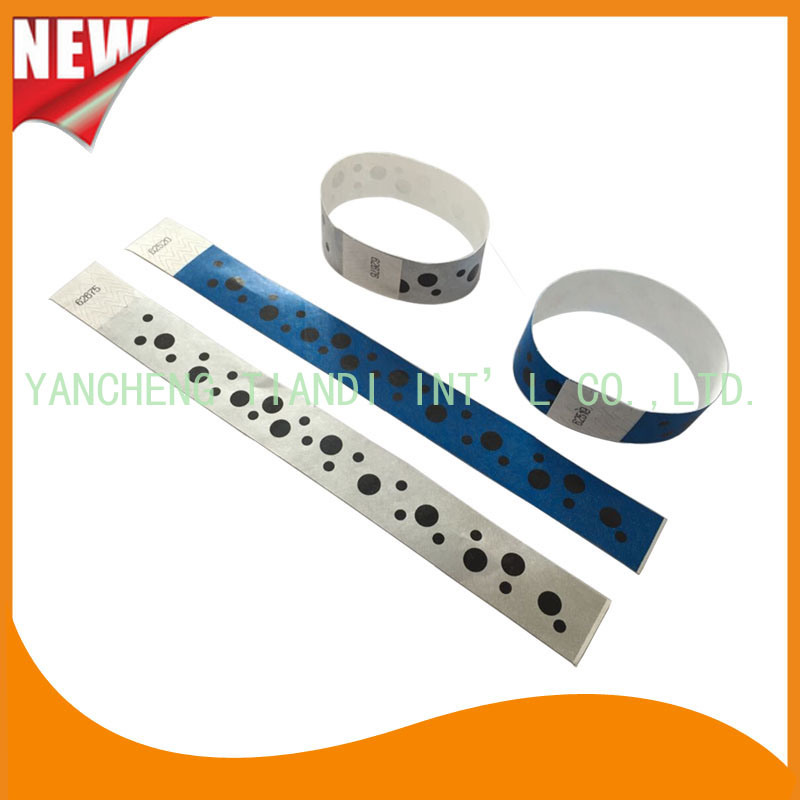 Tyvek Entertainment Custom Party VIP Paper ID Wristbands (E3000-1-76)