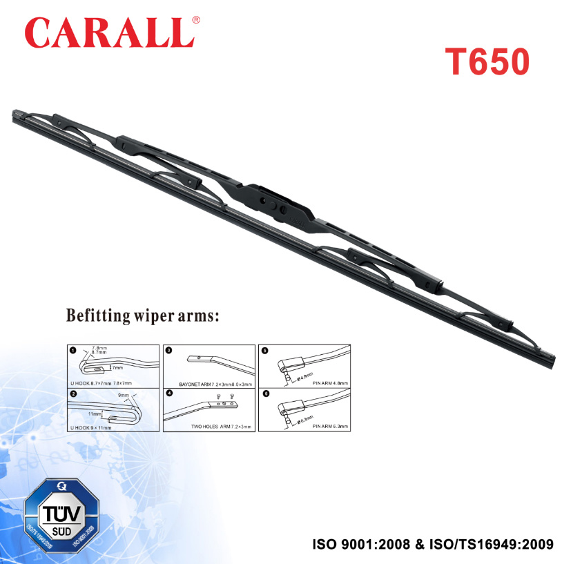 Conventional Windshield Wiper Blade