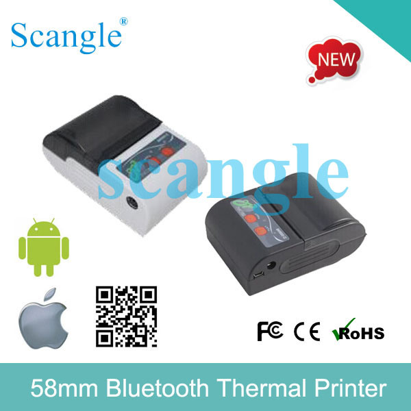 Mini 58mm Bluetooth Mobile Printer, Cheap Printer