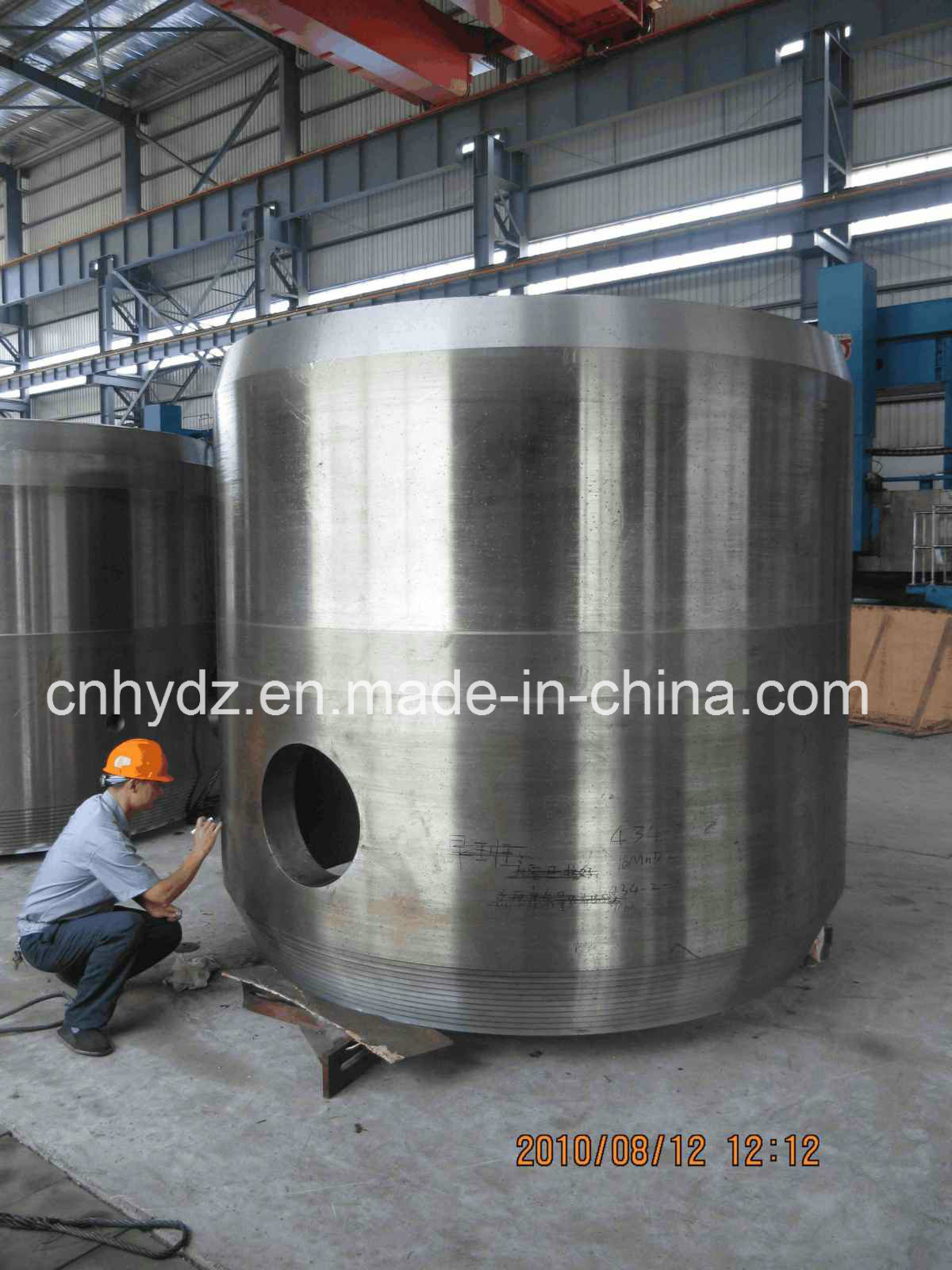 Hot Forged Alloy Steel 16mn Cylinder