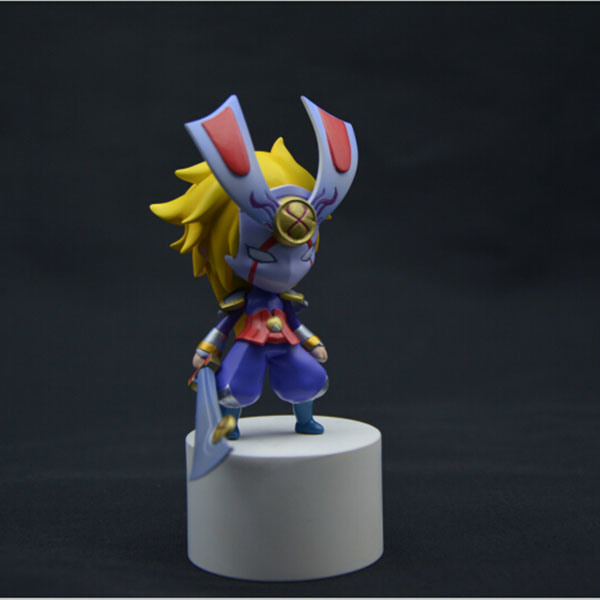 Customized Plastic Figure with LED Function