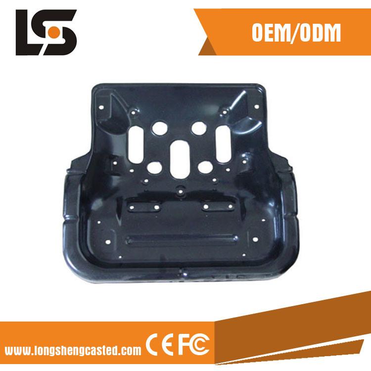 Custom Auto Motor Black Carbon Holder Precision Metal Stamping Parts
