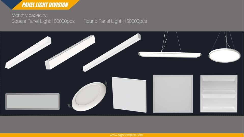 Signcomplex Al6063 5050SMD 2X4 Feet LED Panels RGB DMX with Ce RoHS UL