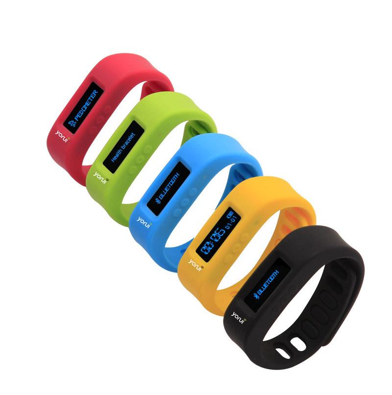 L12s Fashion Touch Screen Bluetooth Smart Bracelet Blue