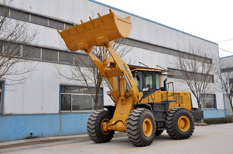 Zl50 Yineng 5 Ton Wheel Loader Yn958