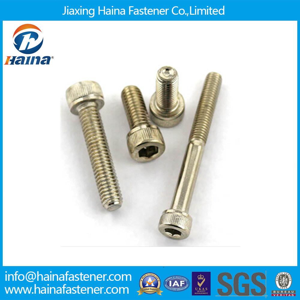 DIN912 Tainless Steel 316 304 Hex Socket Head Cap Screw